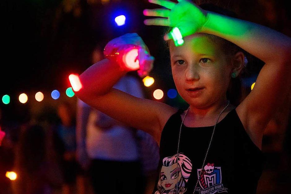 Lichterfest im Kurpark Lenzkirch (Foto: Wolfgang Scheu)