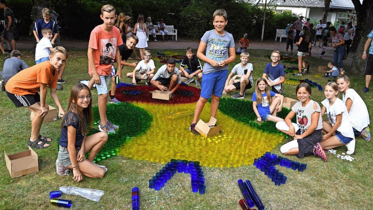Lichterfest im Lenzkircher Kurpark - D...on Erich Kreutz erhielt viel Beifall.   | Foto: Wolfgang Scheu