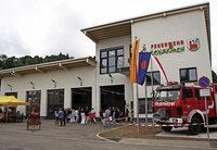 Weihe für das neue Feuerwehrgerätehaus