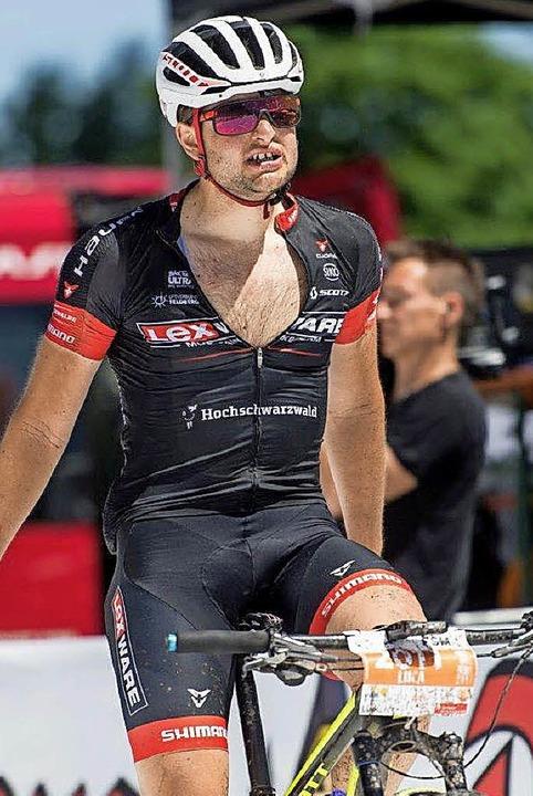 Luca Schwarzbauer, hier beim Ultra-Bik... bei der U-23-EM  auf den 15. Platz.    | Foto: Archivfoto: Patrick Seeger