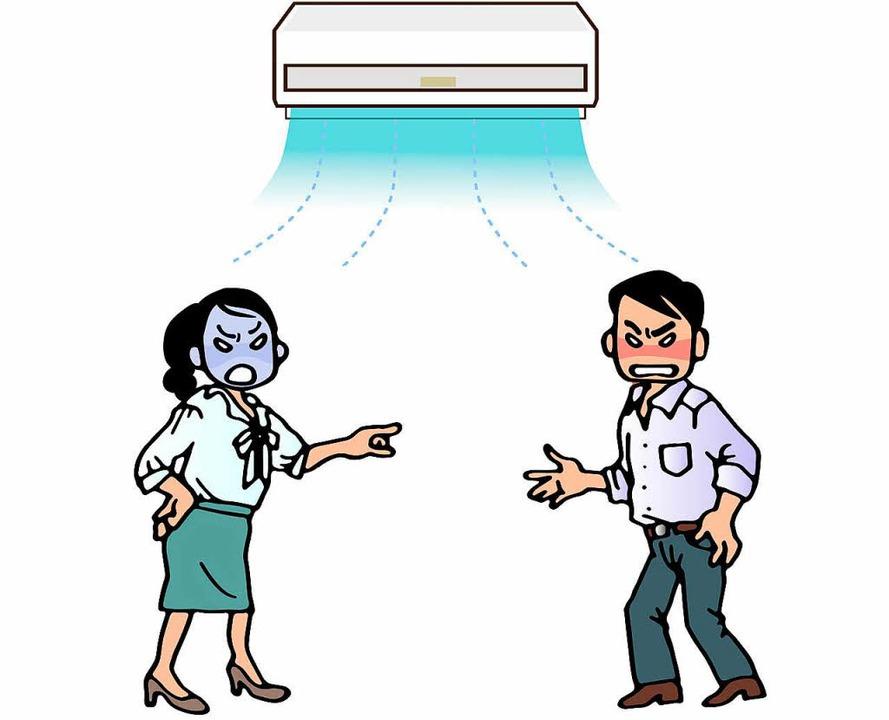 Unter dem Dunst der Klimaanlage toben ideologische Grabenkämpfe.  | Foto: adobe.stock