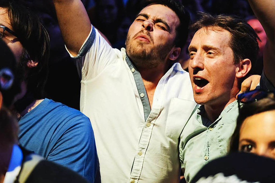Die Stimmung und das Publikum bei den Marktplatzkonzerten (Foto: Miroslav Dakov)
