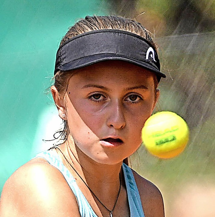 Ball fest im Blick: Stella Schwörer  | Foto: Patrick Seeger