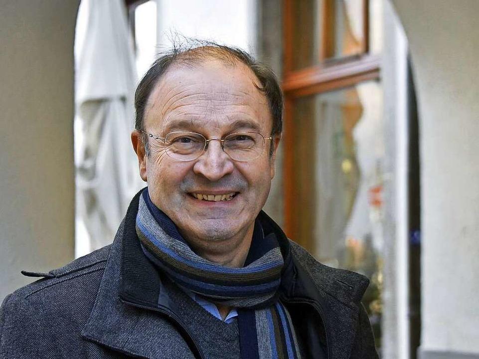 Der Freiburger Historiker Heinrich Schwendemann kennt sich aus.  | Foto: Michael Bamberger