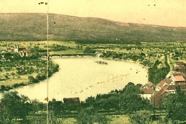 Der Hochrhein anno 1910