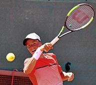 Marvin Schaber fordert Daviscup-Spieler