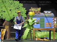 Löwenzahn-Show für Klein und Groß auf der Landesgartenschau in Lahr