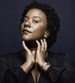 Jazzsängerin Indra Rios-Moore in der Reithalle des Riehener Wenkenparks