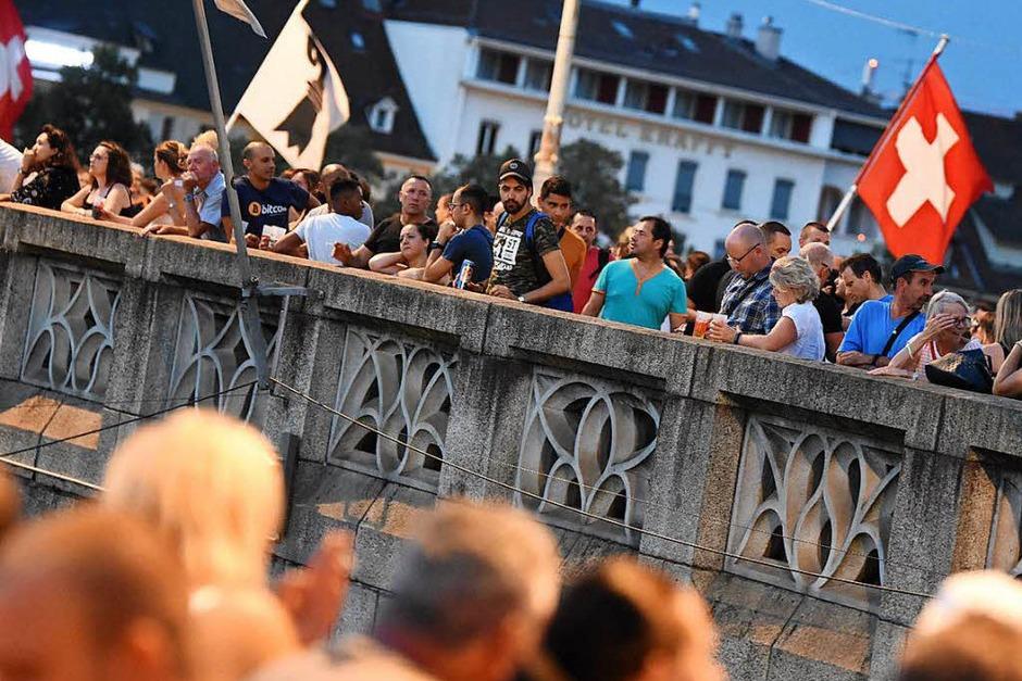 Blick auf die Mittlere Brücke (Foto: Jonas Hirt)