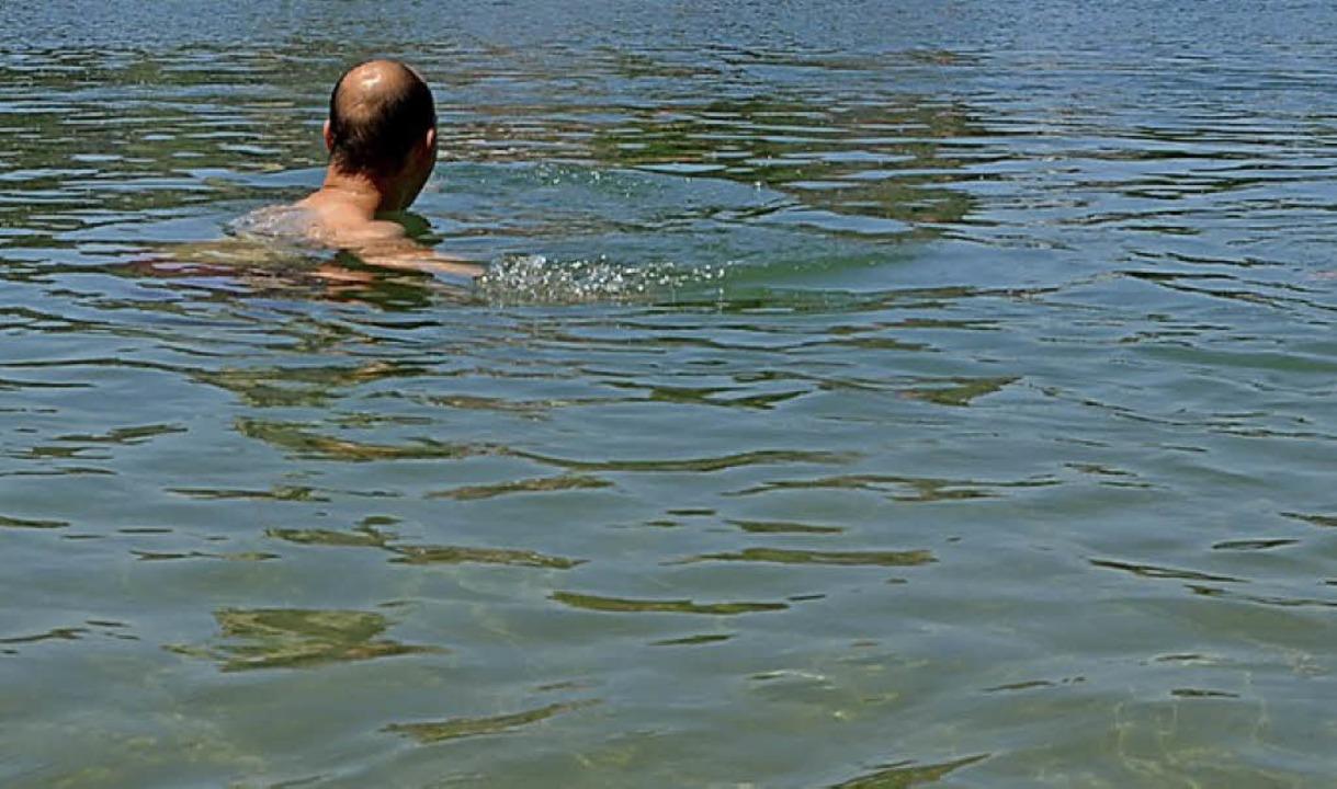 Beim Schwimmen im Rhein ist ein Mann verunglückt.   | Foto: Symbolfoto: Held