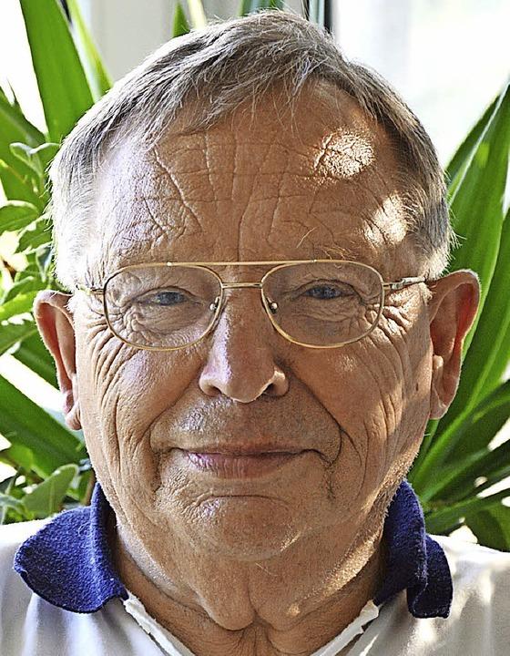 Gerhard Vogt erinnert sich noch an die Jahre 39-48.   | Foto: Diehl