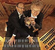 Bernd Kratzer und Paul Theis gestalten am Montag, 6. August, festliche Trompetengala in der Wallfahrtskirche in Todtmoos.