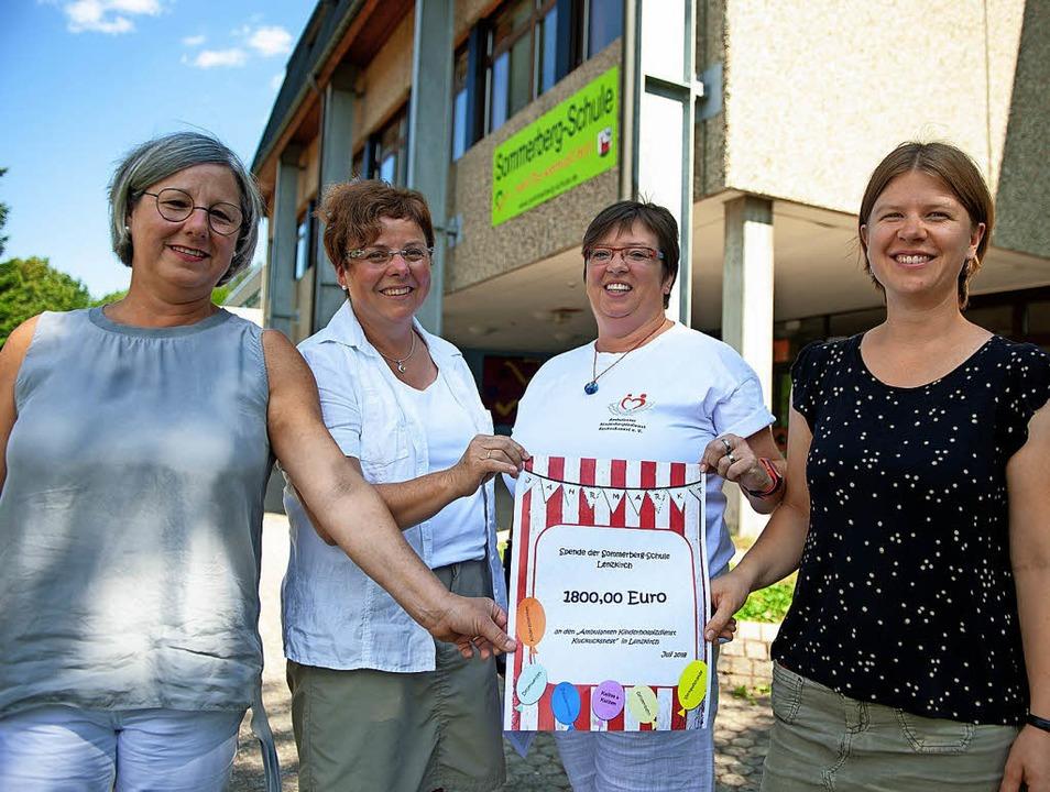 Die stellvertretende Schulleiterin der...cksnest mit Sitz in Titisee-Neustadt.   | Foto: Wolfgang Scheu