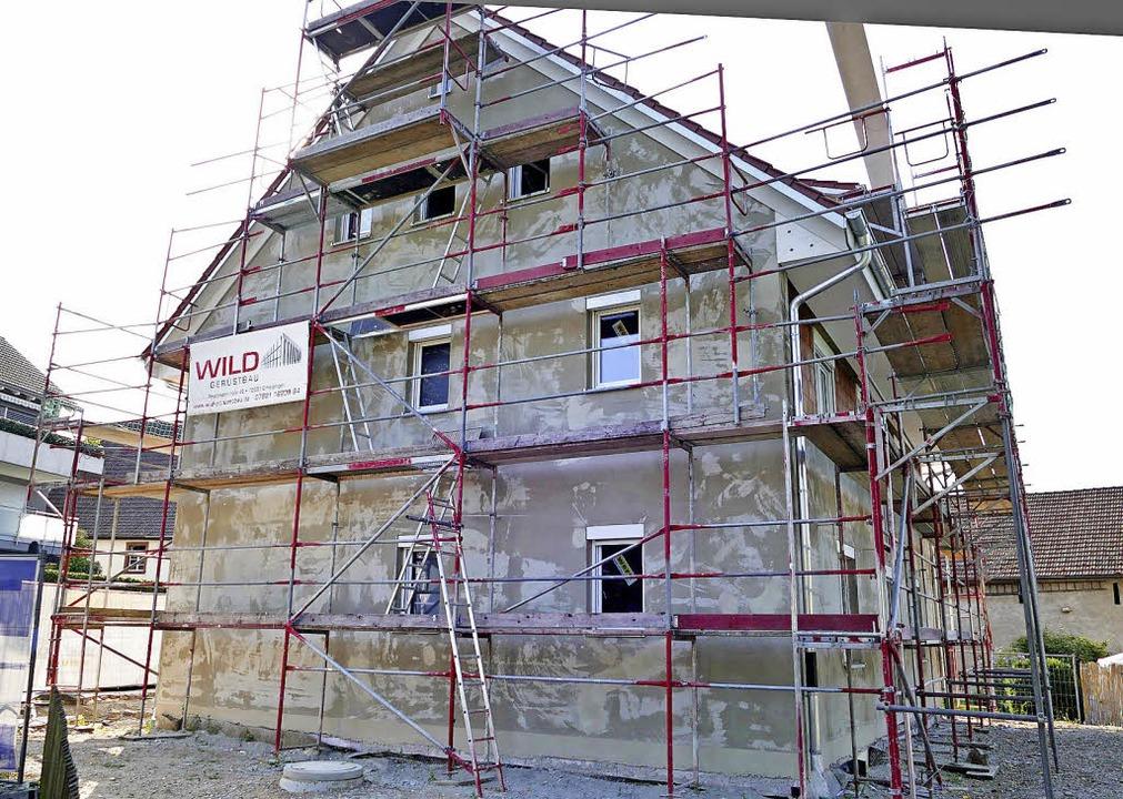 Das kommunale Wohnhaus in Fischingen ist fast fertiggestellt.    | Foto: Langelott