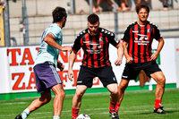 Rote Köpfe und kurze Spielzeit für Kohl: Das SC-Jubiläumsspiel gegen den FC Bayern