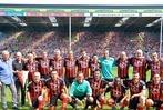 Fotos: Das SC-Jubiläumsspiel gegen Bayern München