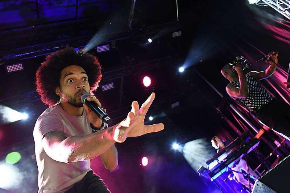 "Impressionen von ""Celebrating Prince"" mit The New Power Generation (Foto: Barbara Ruda)"