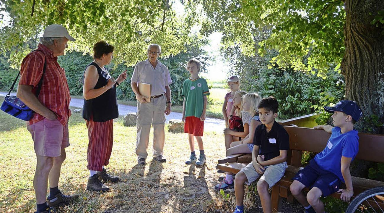 Exkursion für Kinder mit dem Geschichtskreis Forchheim   | Foto: Roland Vitt