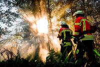Feuerwehren im Südwesten sehen sich für Waldbrände gut gerüstet
