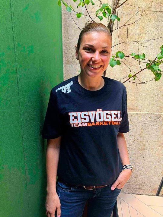 Sie ist die neue Trainerin: Hanna Ballhaus  | Foto: privat