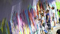 Graffti-Jam an der Dreisam