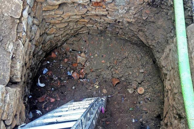 Ein Loch führt in die Vergangenheit