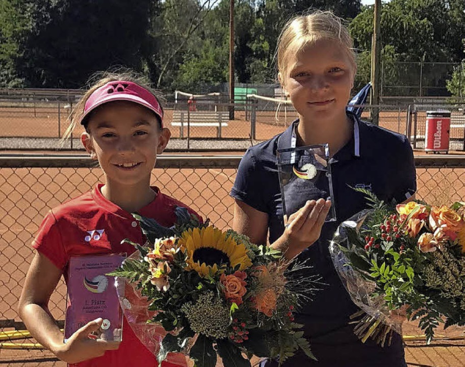 Erfolgreich in Detmold: Julia Stusek (links) und Rieke Wendt    Foto: Privat