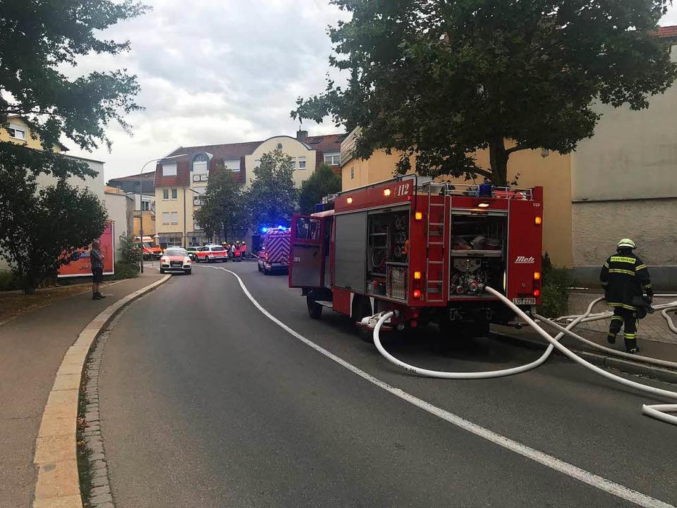 Feuerwehreinsatz in der Spitalstraße  | Foto: Martin Eckert