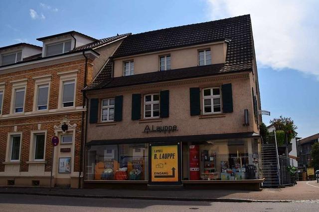 Nach 140 Jahren muss das Geschäft Aprell-Lauppe in Steinen schließen