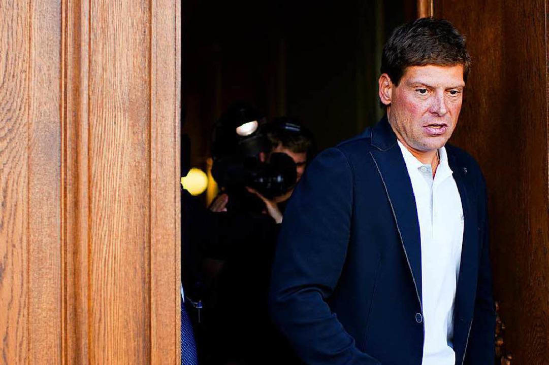 Jan Ullrich macht wieder Schlagzeilen.  | Foto: dpa