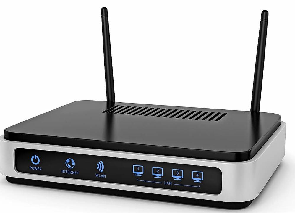 Macht den Weg ins Internet frei: der WLAN-Router  | Foto: adobe.com
