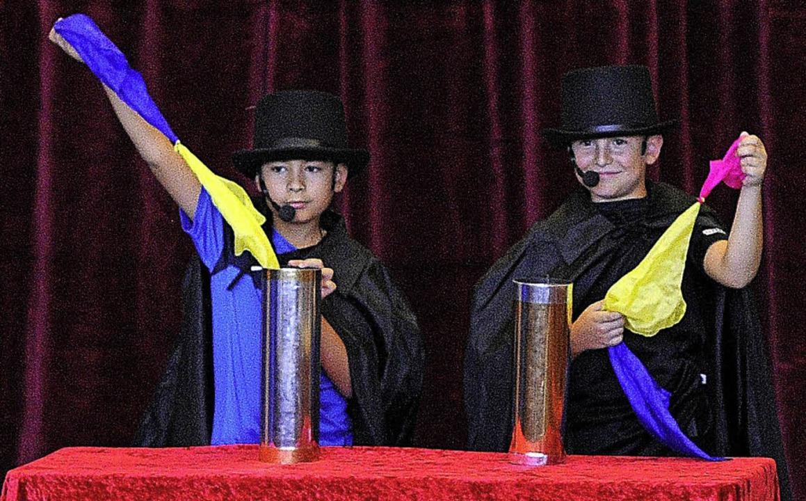 Magie darf im Zirkus nicht fehlen.   | Foto: Bettina Schaller