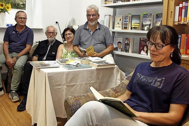 Literarisches Fünf-Gänge-Menü und kulinarische Häppchen