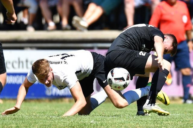 Gerechtes Remis im Derby zwischen Emmendingen und Wyhl