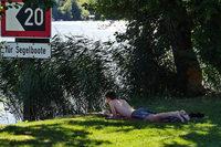 An heißen Wochenenenden zieht es die Menschen nicht nur ans Wasser