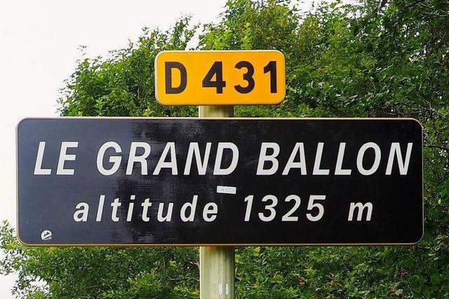 Tour-de-France-Flair: Auf den Grand Ballon von Badenweiler