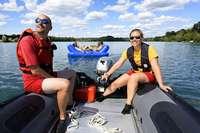 Baywatch am Baggersee: So arbeiten die Rettungsschwimmer der DLRG