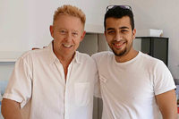 Syrischer Flüchtling arbeitet als Zahnarzt in Schallstadt