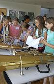 Auf Tuchfühlung mit Trompete und Tuba