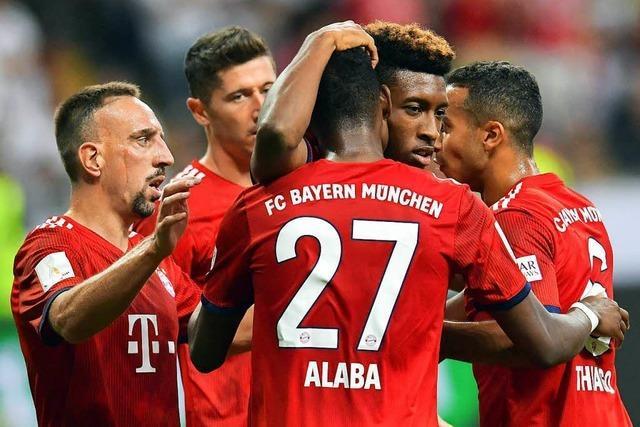 Der FC Bayern München spielt im Supercup wie befreit auf