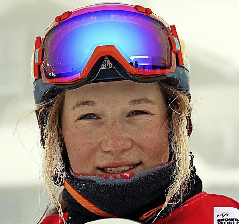 Hat gute Aussichten bei der Junioren-W...boaderin Jana Fischer vom SC Löffingen  | Foto: hahne