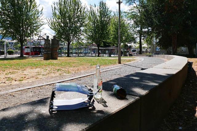 Erneute Attacke im Pfählerpark – 25-Jähriger mit Glasflaschen traktiert