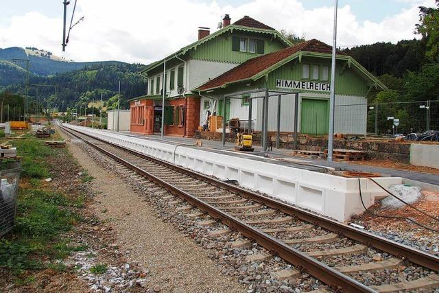 Höllentalbahn zum 1. November fertig, sagt der Projektleiter