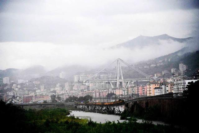 Der Brücken-Einsturz von Genua –