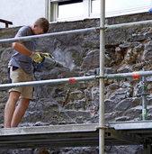 2,8 Millionen Euro für Mauersanierung