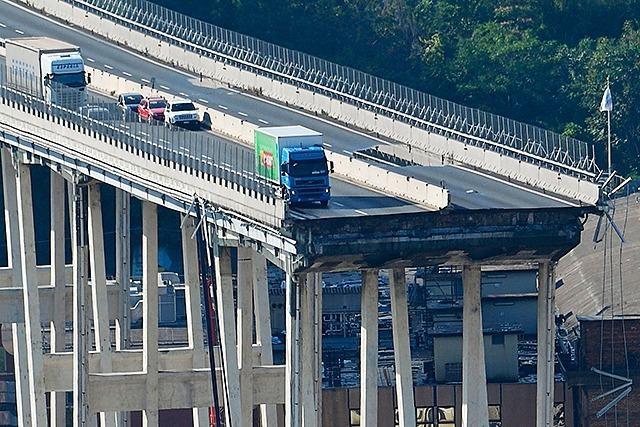 Der Brücken-Einsturz von Genua -