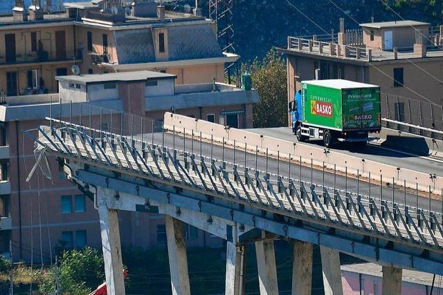 Brücken-Tragödie in Genua: Mindestens 42 Tote – und neue Schuldzuweisungen