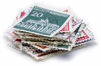 Börse für Briefmarken