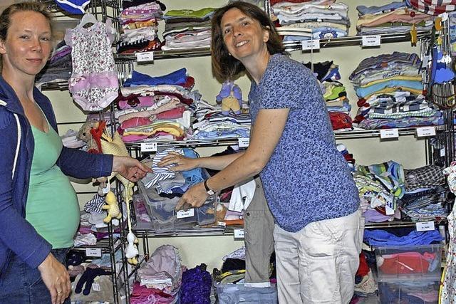 Der Laden bietet mehr als Kleidung