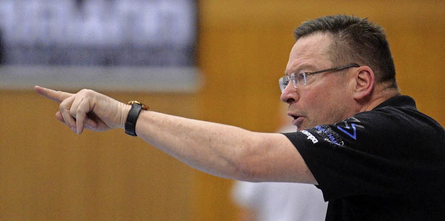 SG-Trainer Ole Andersen möchte seine H...er in die Erfolgsspur zurück bringen.   | Foto: Patrick Seeger